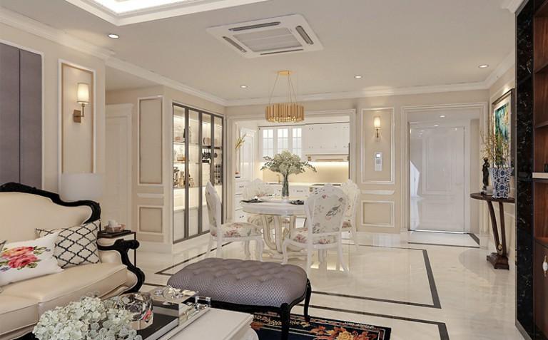 Anh Tài - Thi công phào chỉ PU chung cư Goldmax city 136 Hồ Tùng Mậu