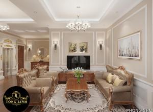 10 kiểu thiết kế nội thất chung cư tân cổ điển ĐẸP, SANG, ĐỈNH