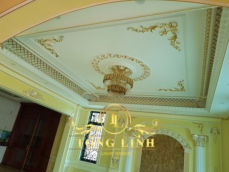 Nhà thầu thi công nội thất ở Hải Phòng chuyên tân cổ điển Lâu đài, dinh thự